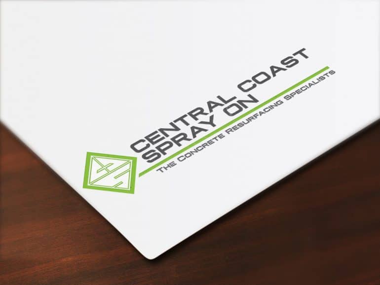 Central Coast Spray On logo design