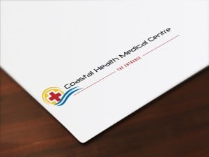Coastal Health Medical Centre logo design