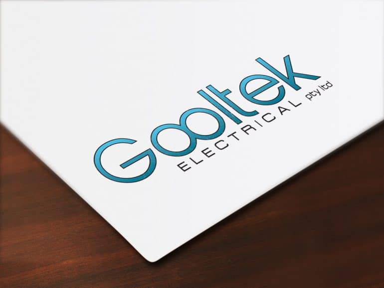Gooltek Electrical logo development
