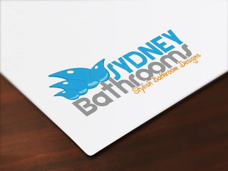 Sydney Bathrooms logo design
