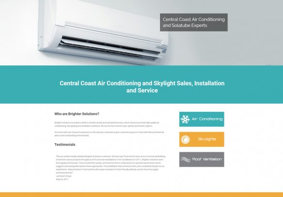 Brighter Solutions Air Conditioning