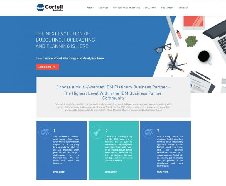 Central Coast Website Design