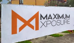 Maximum Xposure Fence Wrap